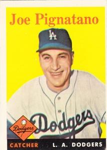 1958 Topps Joe Pignatano