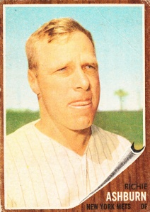 1962 Topps Richie Ashburn