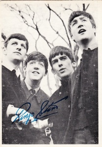 1964 OPC Beatles B&W #13