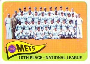 1965 Topps New York Mets