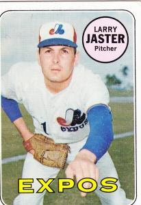 1969 Topps Larry Jaster