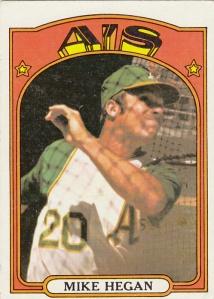 1972 Topps Mike Hegan