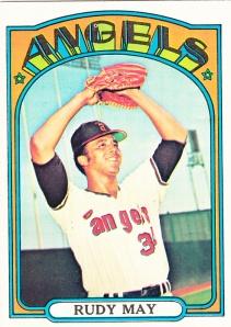 1972 Topps Rudy May