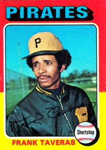 1975 Topps Frank Taveras