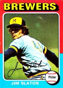 1975 Topps Jim Slaton