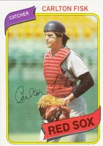 1980 Topps Carlton Fisk