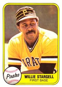 1981 Fleer Willie Stargell