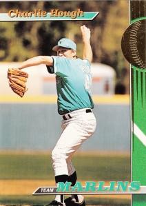 1993 Stadium Club Team Marlins Charlie Hough