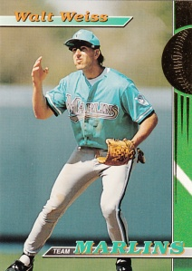 1993 Stadium Club Team Marlins Walt Weiss