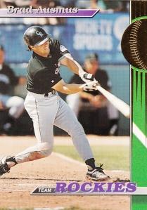 1993 Stadium Club Team Rockies Brad Ausmus