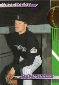 1993 Stadium Club Team Rockies Eric Wedge