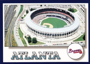 1994 Score Atlanta Braves Checklist
