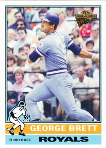 2005 Topps All-Time Fan Favorites George Brett
