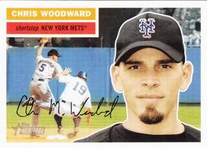 2005 Topps Heritage Chris Woodward