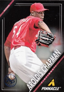 2013 Panini Pinnacle Aroldis Chapman Arists Proof