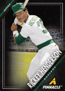 2013 Panini Pinnacle Rickey Henderson