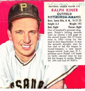 1953 Red Man Ralph Kiner