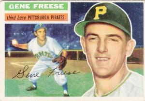1956 Topps Gene Freese