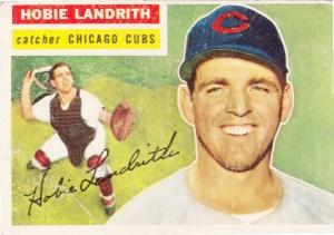 1956 Topps Hobie Landrith