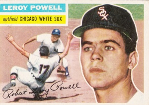 1956 Topps Leroy Powell