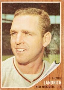 1962 Topps Hobie Landrith