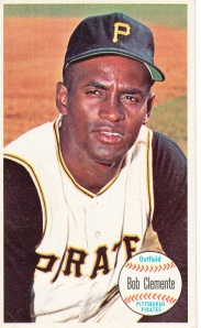 1964 Topps Giants  Bob Clemente