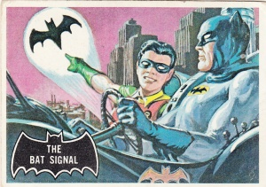 1966 Batman - Black Bat - Bat Signal