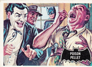 1966 Batman - Black Bat - Poison Pellet
