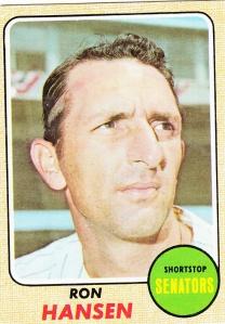 1968 Topps Ron Hansen