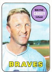 1969 Topps Wayne Causey