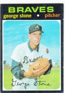 1971 Topps George Stone