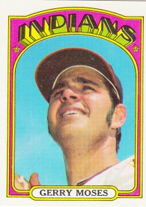 1972 Topps Gerry Moses