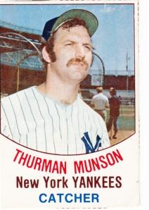 1977 Hostess Thurman Munson