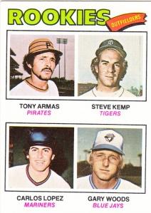 1977 Topps Rookie Outfielders Armas et al