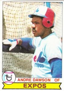 1979 Topps Andre Dawson