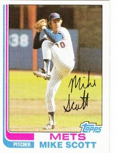 1982 Topps Mike Scott