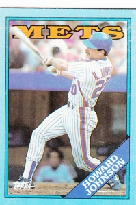 1988 Topps Box Cards Howard Johnson
