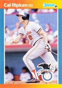 1989 Donruss All-Stars Cal Ripken