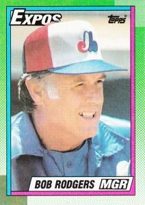 1990 Topps Bob Rodgers