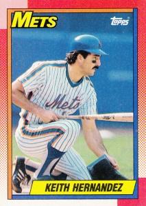1990 Topps Keith Hernandez