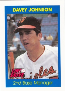 1991 Line Drive Davey Johnson