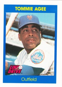 1991 Line Drive Tommie Agee