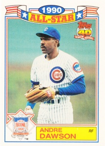 1991 Topps All-Star Glossy Andre Dawson