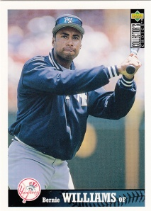 1997 UD Collectors Choice Bernie Williams