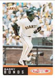 2002 Topps Total Barry Bonds
