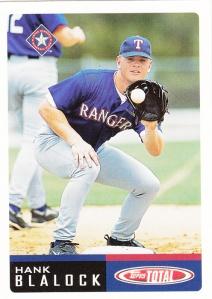 2002 Topps Total Hank Blalock