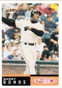 2002 Topps Total Pre-Production Barry Bonds