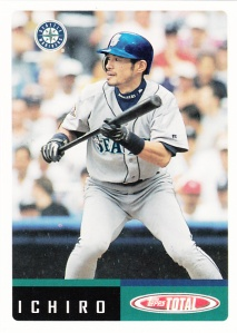 2002 Topps Total Pre-Production Ichiro