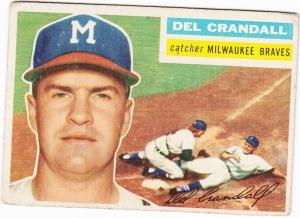 1956 Topps Del Crandall