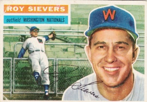 1956 Topps Roy Sievers